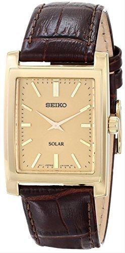 SEIKO(セイコー) 腕時計 ソーラー ゴールドトーン SUP896 メンズ [並行輸入品]