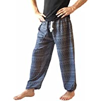 Love Quality Men's Baggy Printed Harem Pants Free Size