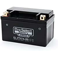 ProSelect(プロセレクト) バイクバッテリー GL-PTX7A-BS (YTX7A-BS 互換) ジェルタイプ 液入充電済み 1個 365日メーカー保証付き