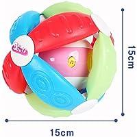 YChoice 可愛い赤ちゃんのおもちゃ ギフト 子供 教育音楽 カラフル 感覚ボール キッズ 面白いハンドボール おもちゃ ギフト