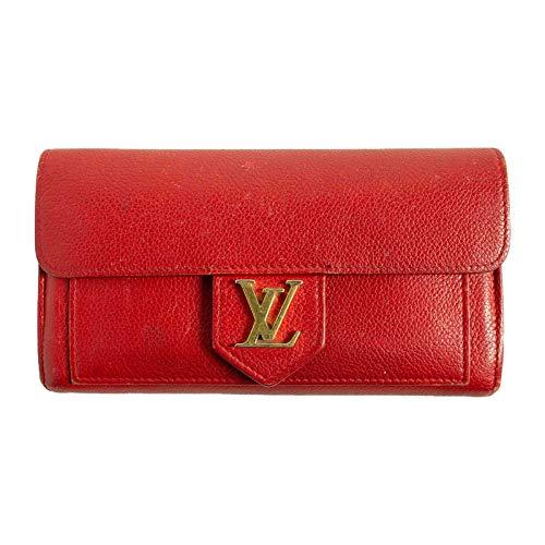 (ルイヴィトン) LOUIS VUITTON 長財布 ロックミー ポルトフォイユ・ロックミー ルビー 赤 M61277