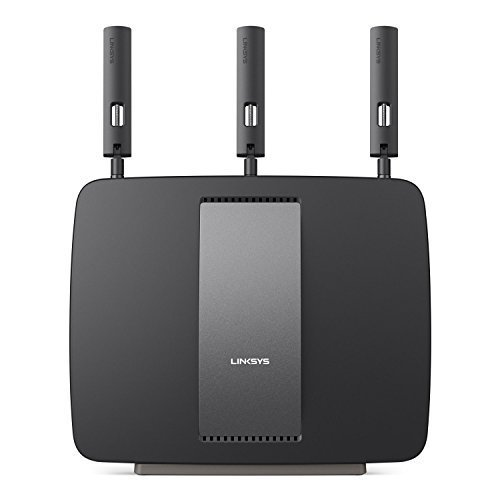Linksys AC3200 Tri-Band Smart Wi-Fi Router with Gigabit and USB (Certified REfurbished [並行輸入品]
