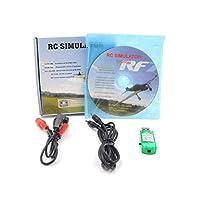 Swiftgood Rcシミュレータワイヤレスケーブル20インチ1フライトシミュレータケーブルusbドングル用rcヘリコプター飛行機車のおもちゃ