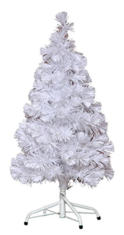 不二貿易 オプティックツリー 高さ90cm ホワイト 33501