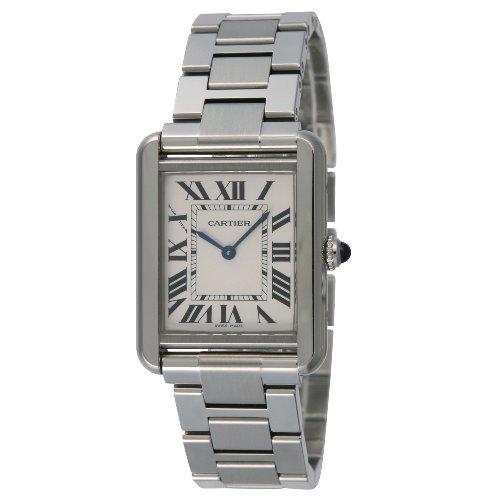 [カルティエ]CARTIER 腕時計 タンクソロ シルバー SM W5200013 レディース 【並行輸入品】