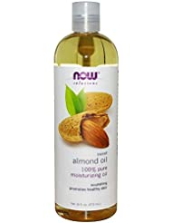 【国内発送】 Now Solutions Sweet Almond Oil 16 oz. (473ml) [並行輸入品]