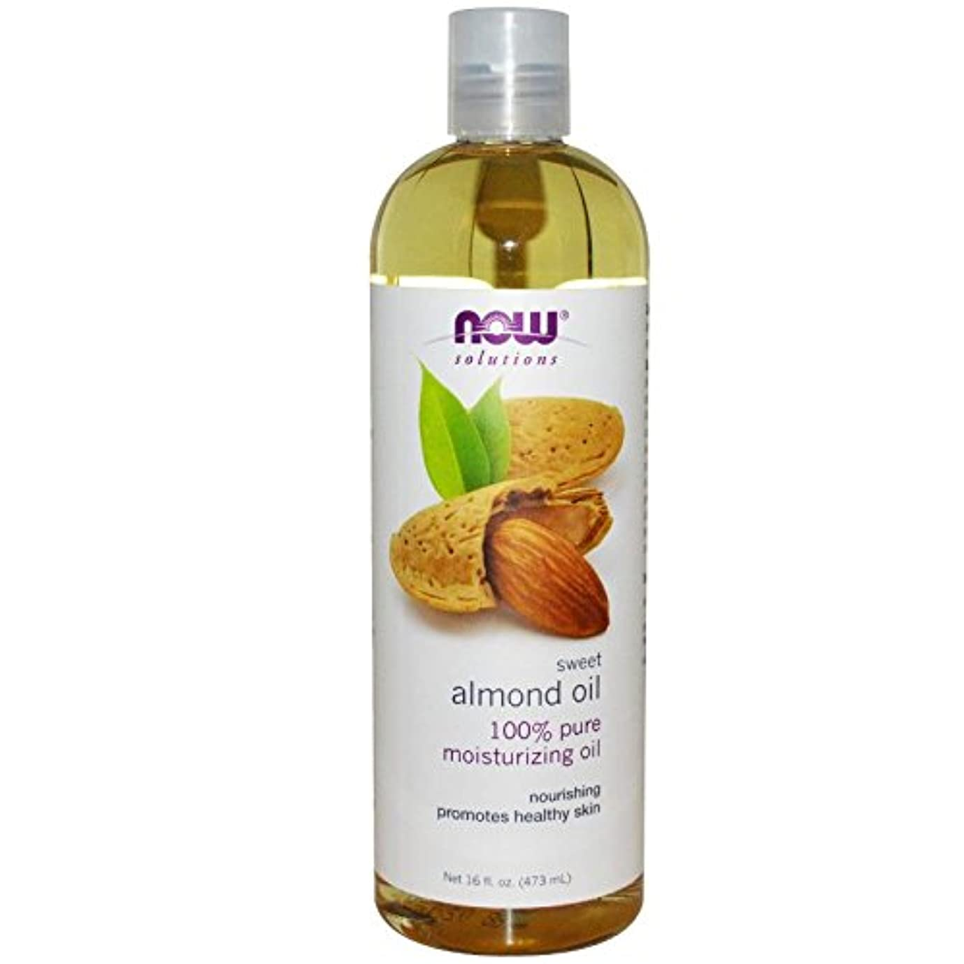 世界の窓不快論理【国内発送】 Now Solutions Sweet Almond Oil 16 oz. (473ml) [並行輸入品]