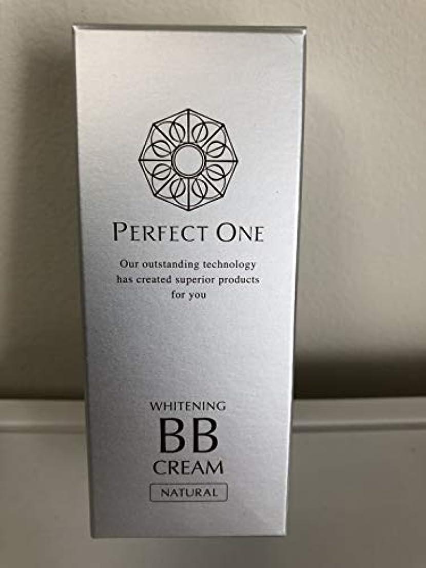 に沿って欺く理論的新日本製薬 パーフェクトワン 薬用ホワイトニングBBクリーム ナチュラル 25g