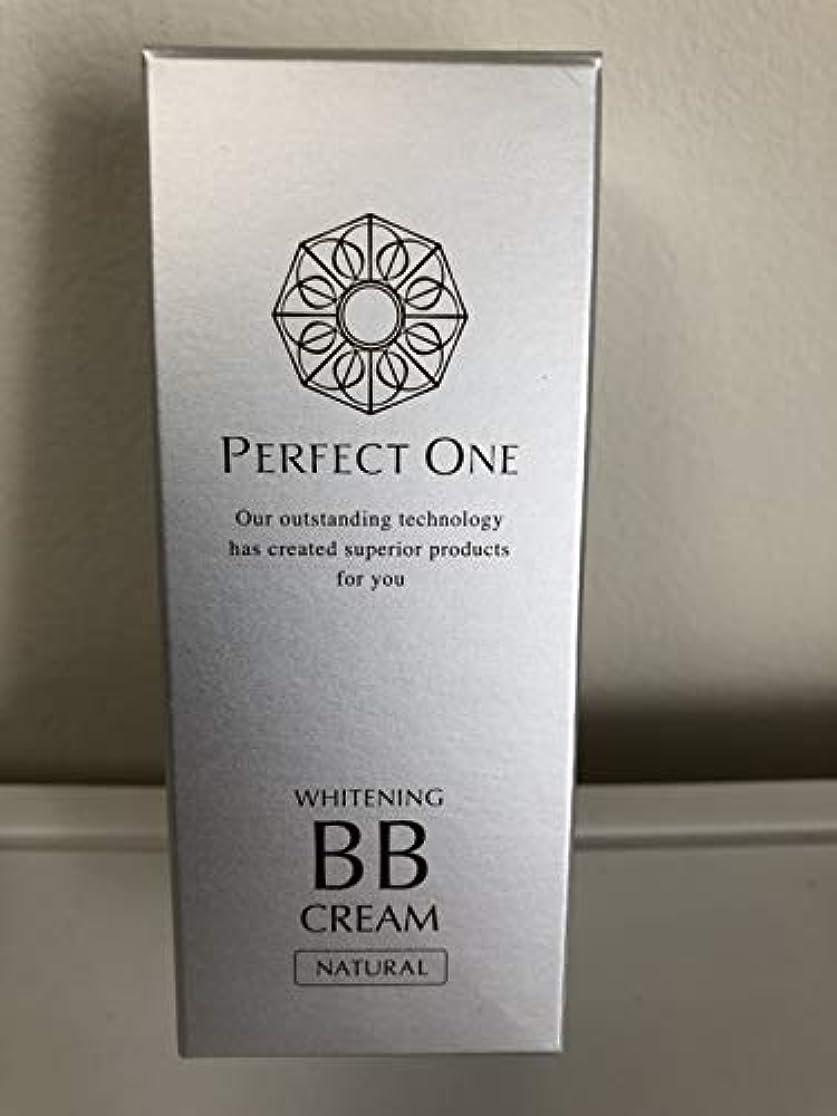 ドライ人工除外する新日本製薬 パーフェクトワン 薬用ホワイトニングBBクリーム ナチュラル 25g