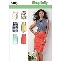 SIMPLICITY MISSES SKIRTS PANTS-14-16-18-20-22 (並行輸入品)