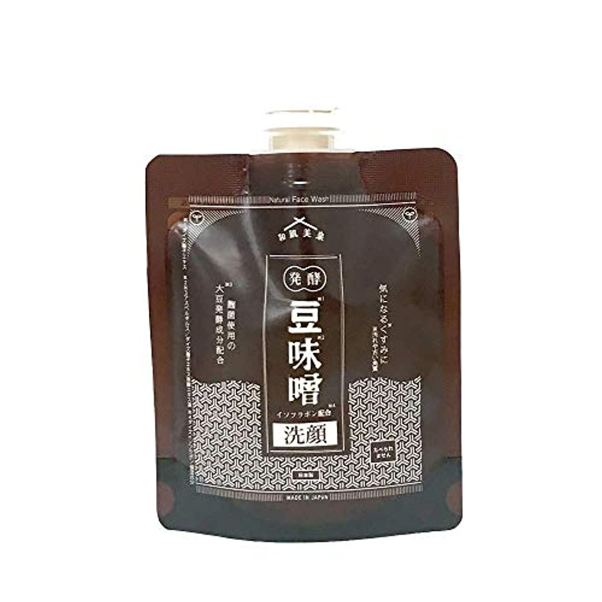 和肌美泉 発酵•豆味噌イソフラボン洗顔 100g