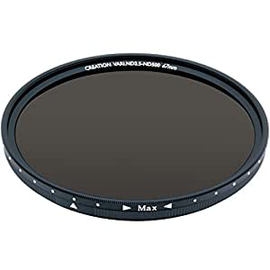 MARUMI カメラ用フィルター CREATION VARI ND 67mm 可変式光量調節用 096119