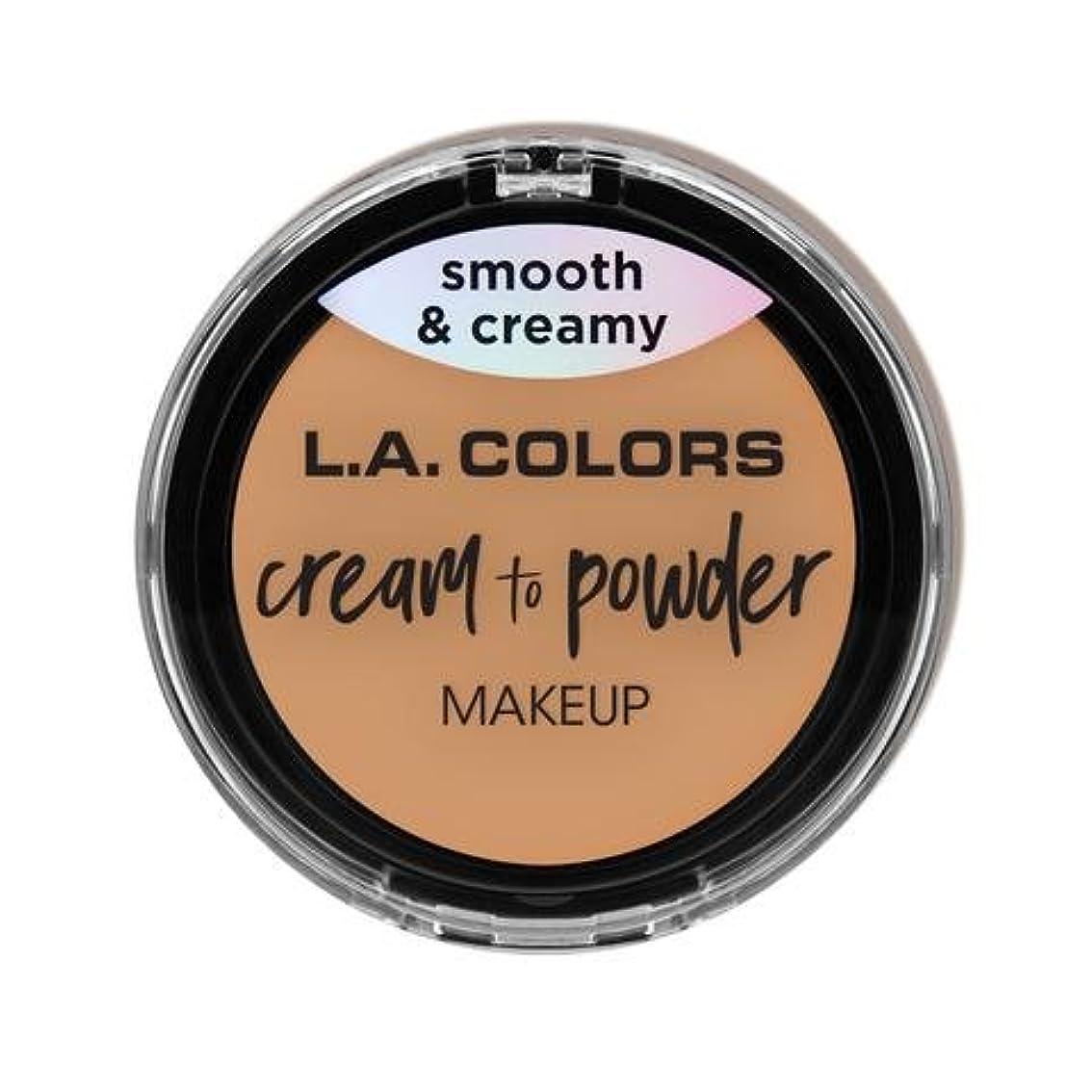代わりのラグガソリン(3 Pack) L.A. COLORS Cream To Powder Foundation - Honey Beige (並行輸入品)