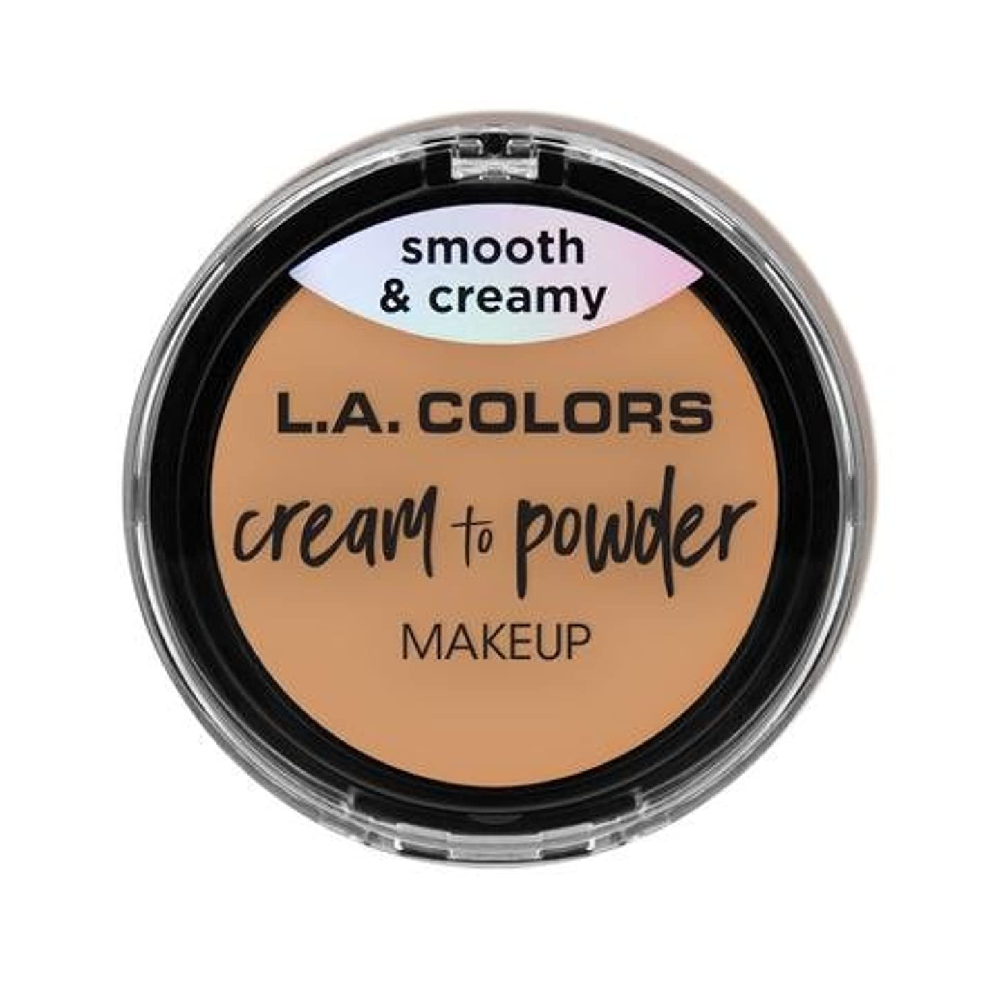 中性アーサーストッキング(3 Pack) L.A. COLORS Cream To Powder Foundation - Honey Beige (並行輸入品)