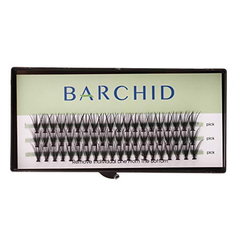 ゲスト通常共感するBARCHID 高品質まつげエクステ超極細太さ0.07mm 20本束12mm フレア セルフ用 素材 Cカールマツエク