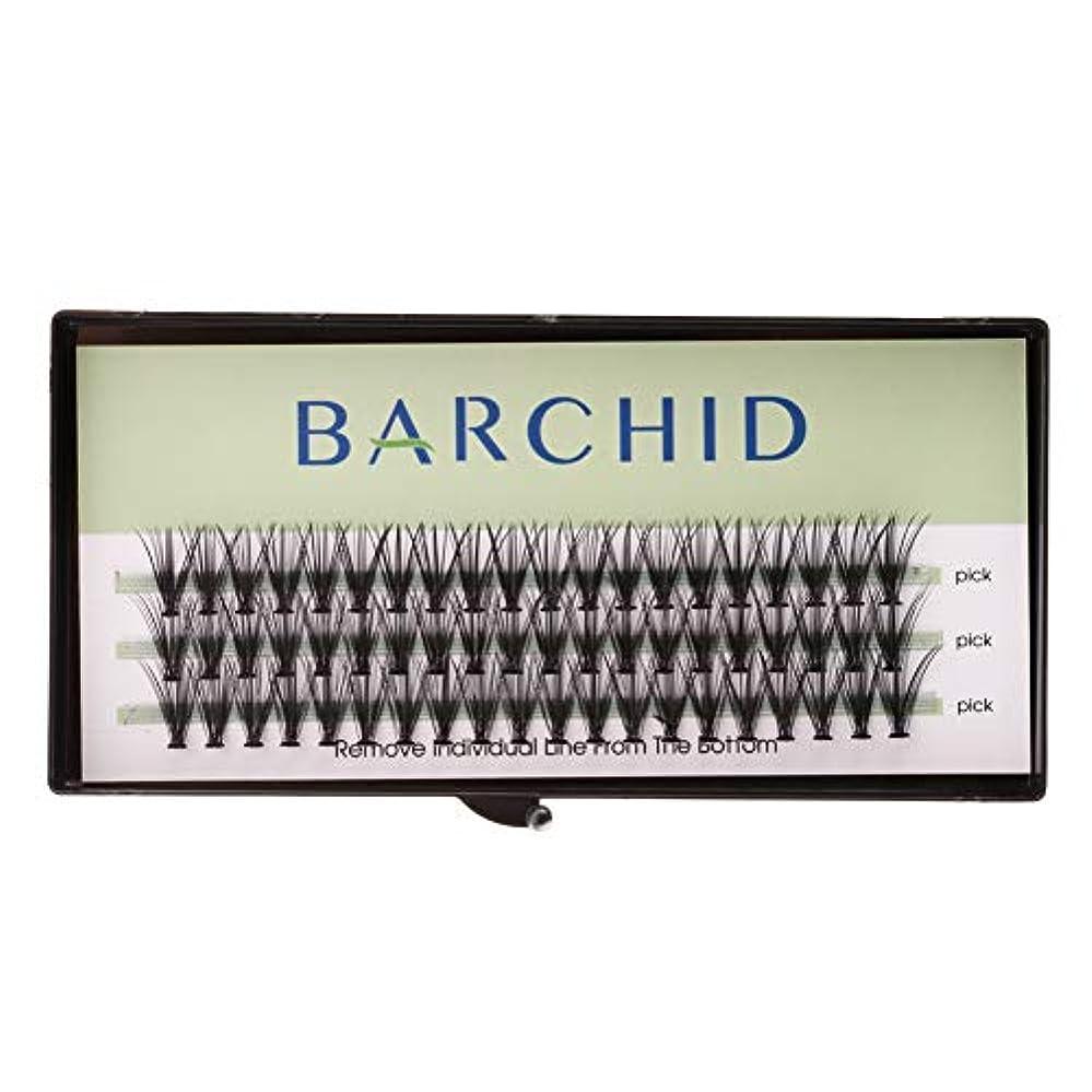 未使用運命持参BARCHID 高品質まつげエクステ超極細太さ0.07mm 20本束12mm フレア セルフ用 素材 Cカールマツエク
