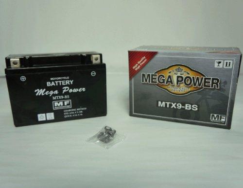 バイク バッテリー SW-1 型式 NJ45A 一年保証  MTX9-BS 密閉式