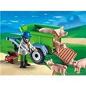 プレイモービル 動物 獣医さんと豚 4495