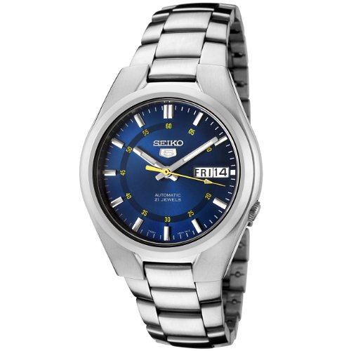 セイコーSeiko Men& 039 s SNK615 Automatic Stainless Steel Watch