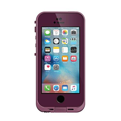 日本正規代理店品・iPhone本体保証付LIFEPROOF 防水防塵耐衝撃ケース FRE for Apple iPhone SE/5s/5 Crushed Purple パープル 360°フルカバー 77-53687