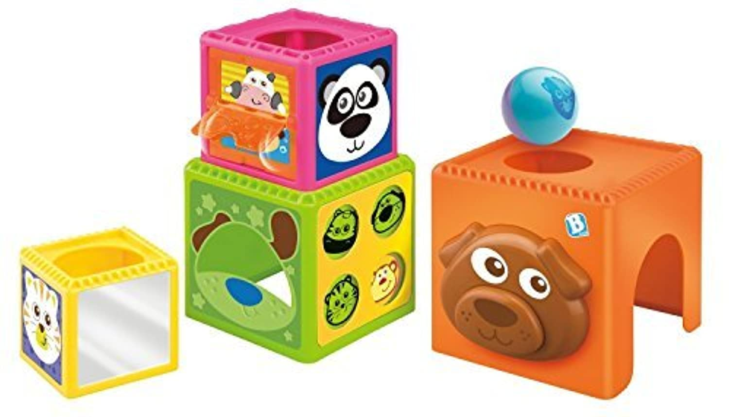 B kids Busy Baby Stackers (Discontinued by Manufacturer) [並行輸入品]
