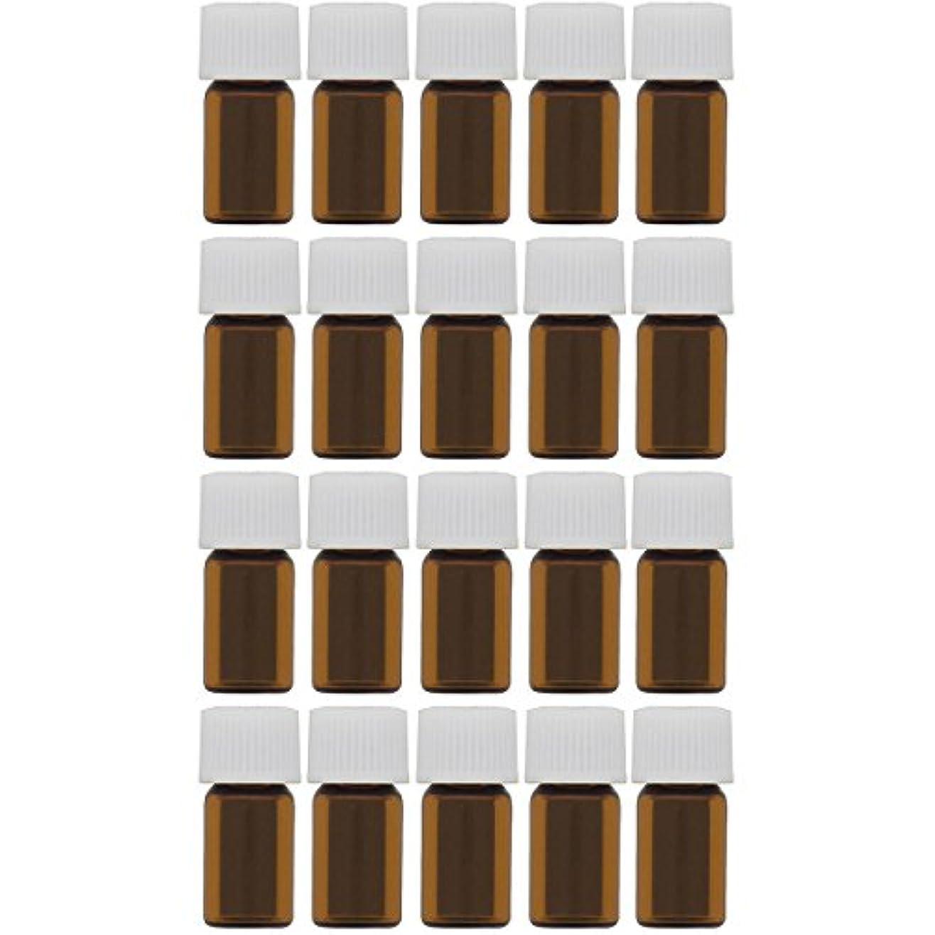数値ロータリー常に遮光ビン 1ml 20本セット