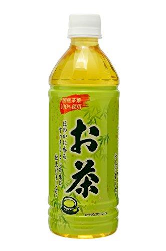 ミツウロコ 緑茶 500ml×24本