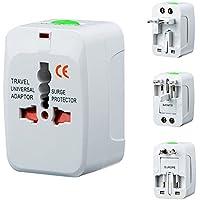 Smilemall 海外旅行用コンセント 安全旅行充電器 変換プラグ マルチ変換プラグ 出張便利 持ち運びやすい UK/US/AUS/EUプラグ か国以上対応
