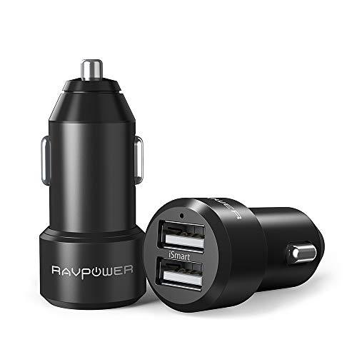 RAVPower カーチャージャー 2Pack (2ポート ...