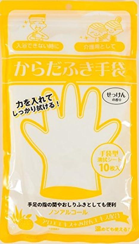発表する額ラテンからだふき手袋 10枚