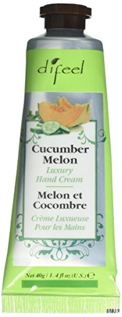 独立して豊富な彼女のDifeel(ディフィール) メロン ナチュラル ハンドクリーム 40g CUCUMBER MELON 05CUC New York 【正規輸入品】