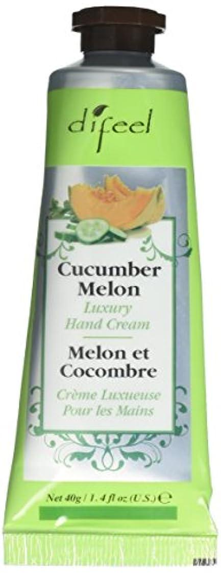 Difeel(ディフィール) メロン ナチュラル ハンドクリーム 40g CUCUMBER MELON 05CUC New York 【正規輸入品】