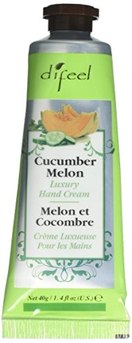 病な鑑定評決Difeel(ディフィール) メロン ナチュラル ハンドクリーム 40g CUCUMBER MELON 05CUC New York 【正規輸入品】