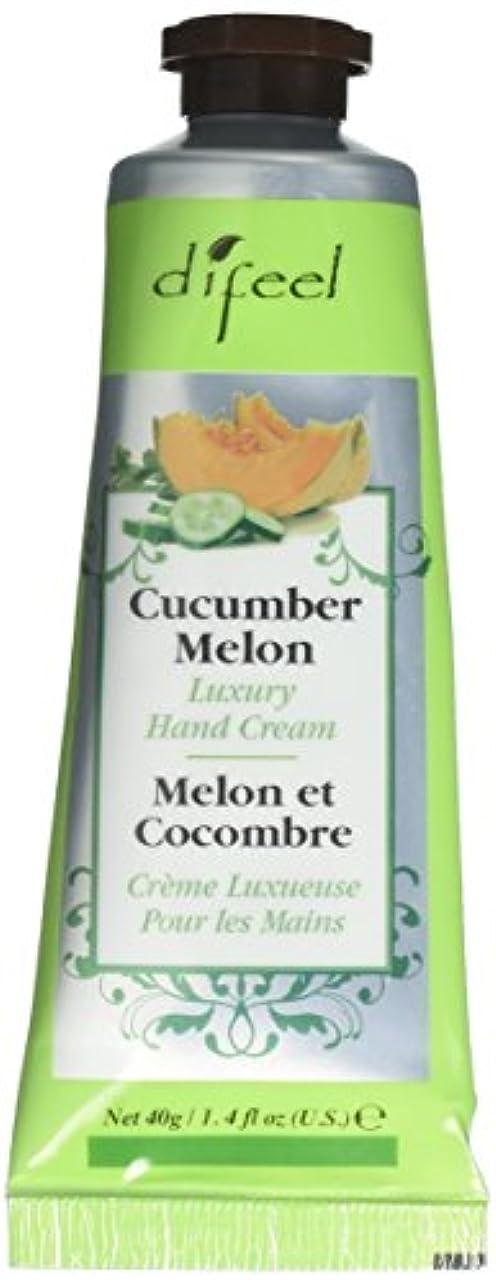 要件決済気楽なDifeel(ディフィール) メロン ナチュラル ハンドクリーム 40g CUCUMBER MELON 05CUC New York 【正規輸入品】