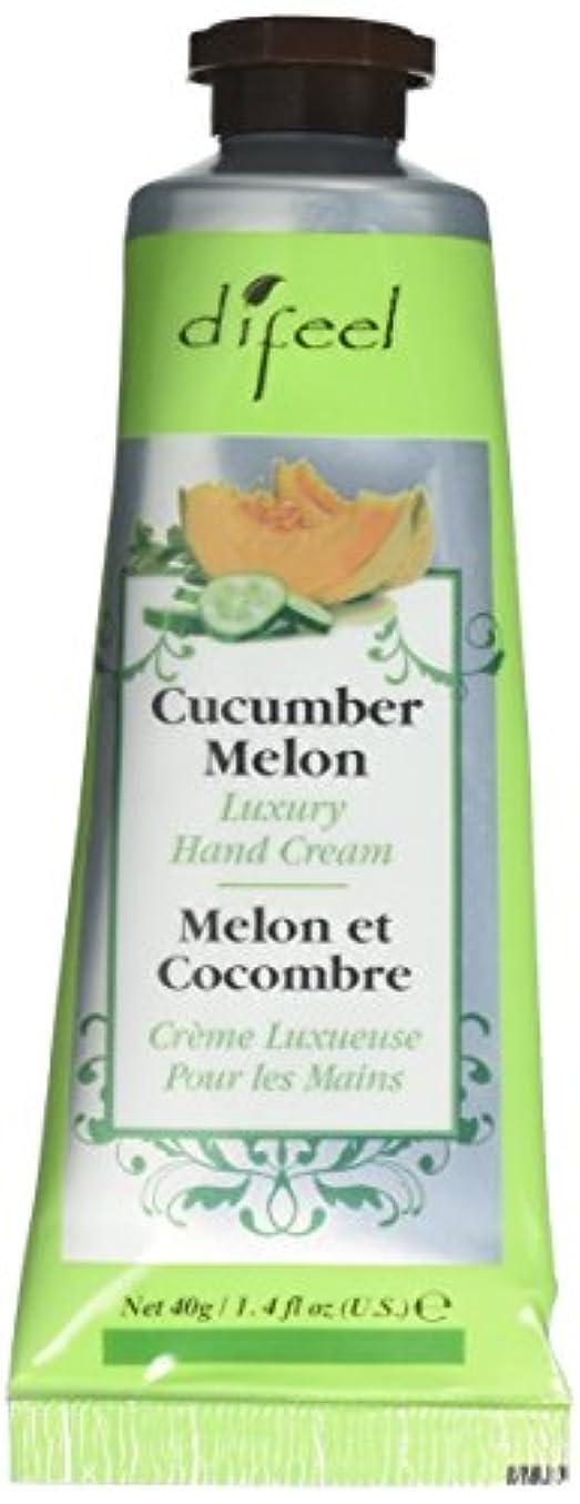 地中海保存する見込みDifeel(ディフィール) メロン ナチュラル ハンドクリーム 40g CUCUMBER MELON 05CUC New York 【正規輸入品】