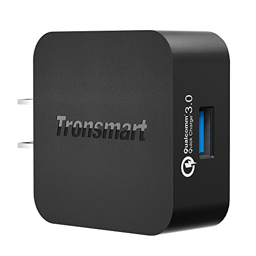 [Qualcomm認証済] Tronsmart Quick Charge 3.0 USB急速充電器 ACアダプター 急速充電 スマホ / タブレット / Android / Galaxy S8 / Xperia / ZenFone 他対応