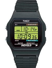 [タイメックス]TIMEX クラシックデジタル オリジナル ブラック ウレタンベルト T75961 【正規輸入品】