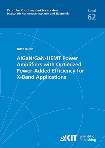 AlGaN/GaN-HEMT power amplifiers with optimized power-added efficiency for X-band applications