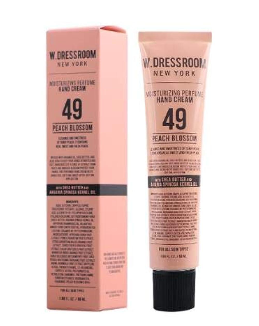 不振ピアース未払い[Renewal] W.DRESSROOM Perfume Hand Cream(NO.49 PEACH BLOSSOM) /パフューム ハンドクリーム [並行輸入品]