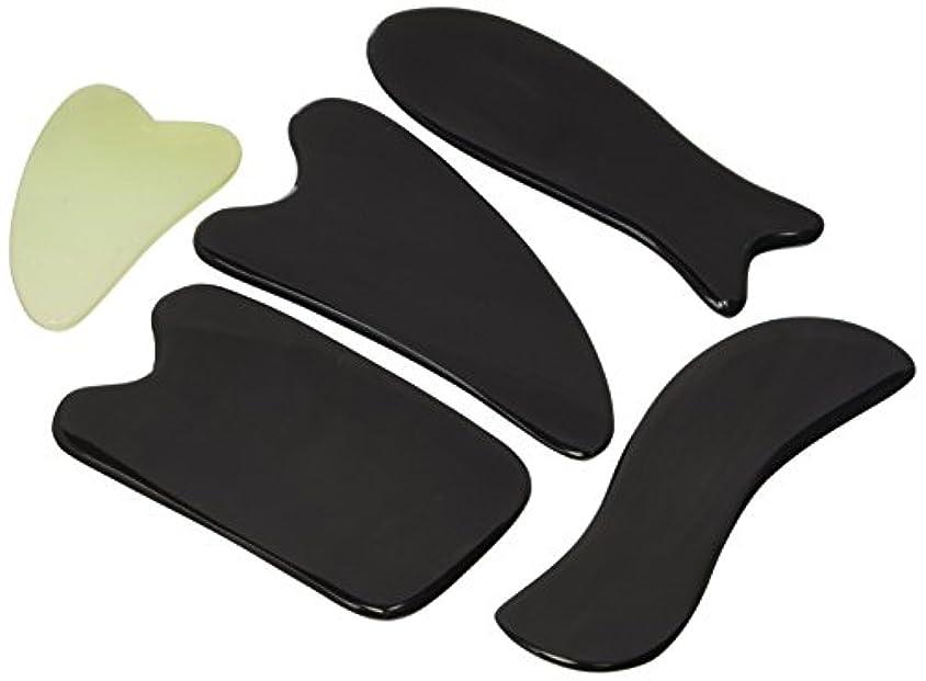 定期的にデータベースジャンプするGua Sha Massage Tools By One Planet With Small Massage Gift - Ultra Smooth Edge for Scraping, 100% Handmade, Hand...