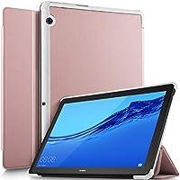 Luibor Huawei MediaPad T5 10ケース 超軽量スリムスマート折りたたみカバーケース Huawei MediaPad T5 10タブレット用