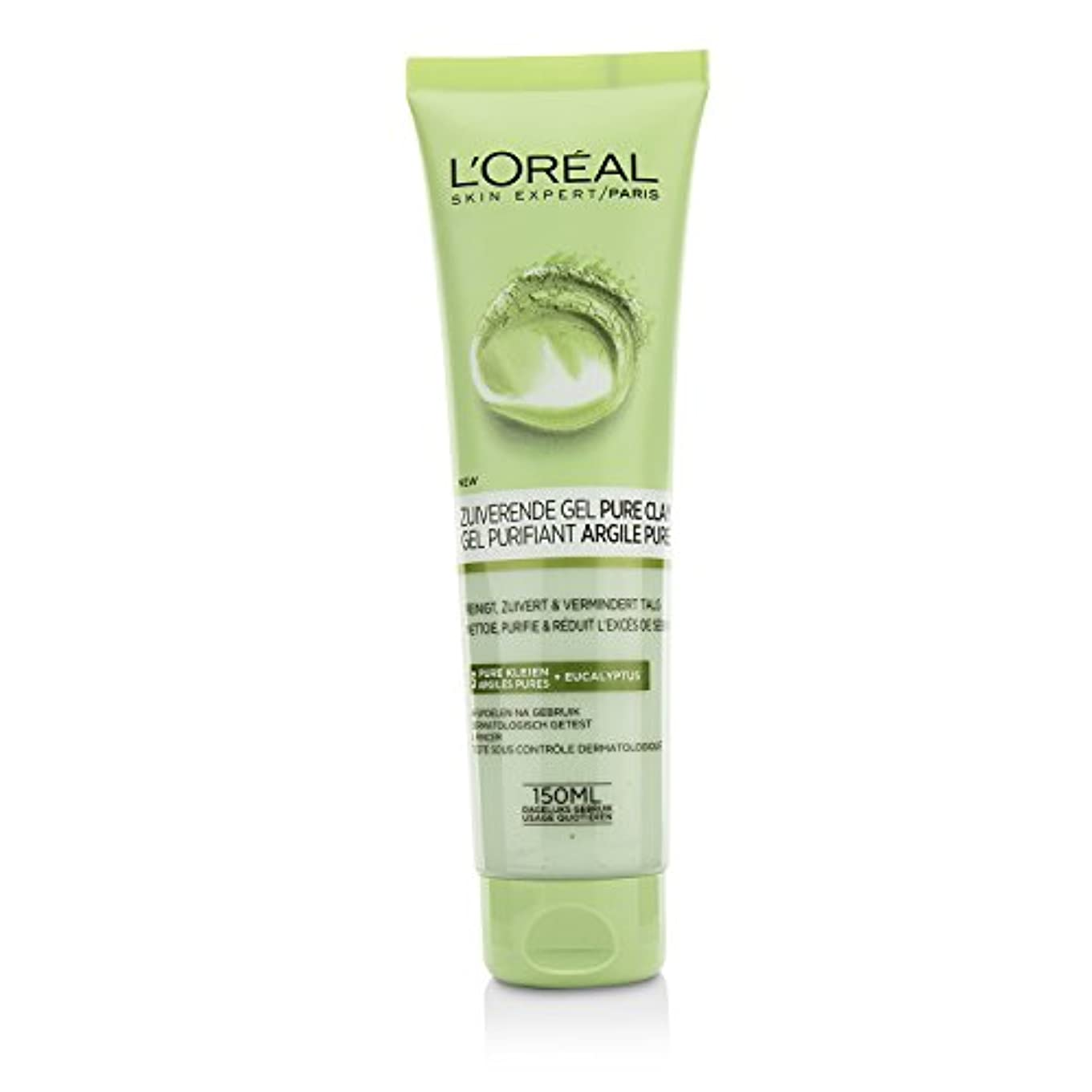 ロレアル Skin Expert Pure-Clay Cleanser - Purify & Mattify 150ml/5oz並行輸入品