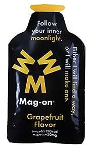 Mag-onエナジージェル グレープフルーツ 持久系アスリート向け水溶性マグネシウム&エネルギー