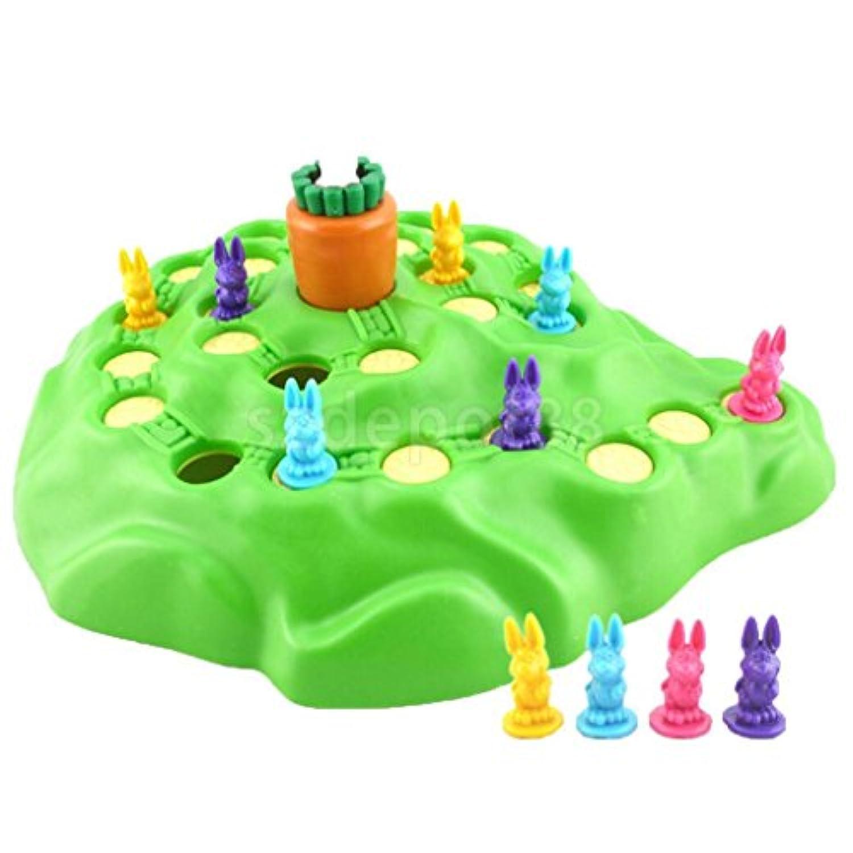 新しいFunny Bunny子供のボードゲームfor countingスキル& Moreおもちゃギフト