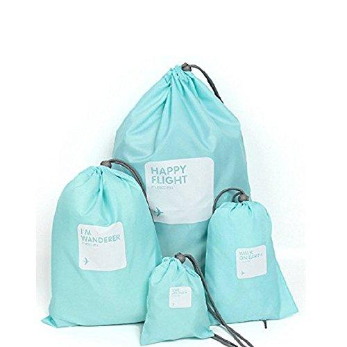 B-PING 防水 出張 旅行用収納バッグ4点セット 巾着袋...