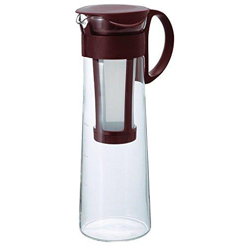 HARIO (ハリオ) 水出し コーヒーポット 1000ml   コーヒードリップ 8杯用 ブラウン  MCPN-14CBR