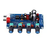 HIFI OP-AMPアンプ オーディオトーンコントロール ボリュームコントロール NE5532プリアンプ音量トーン 組み立てられたボードを制御する