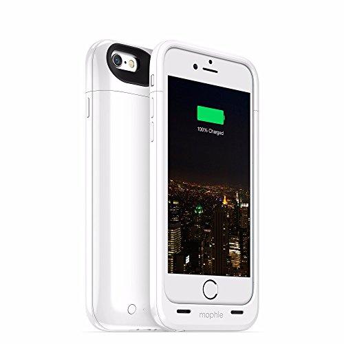 Mophie iPhone 6/6s用 juice pack plus(ホワイト)モーフィー 3072_JPP-IP6-WHT
