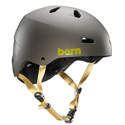 bern(バーン) ヘルメット MACON オールシーズンモデル Matte Charcoal マット チャコール XL