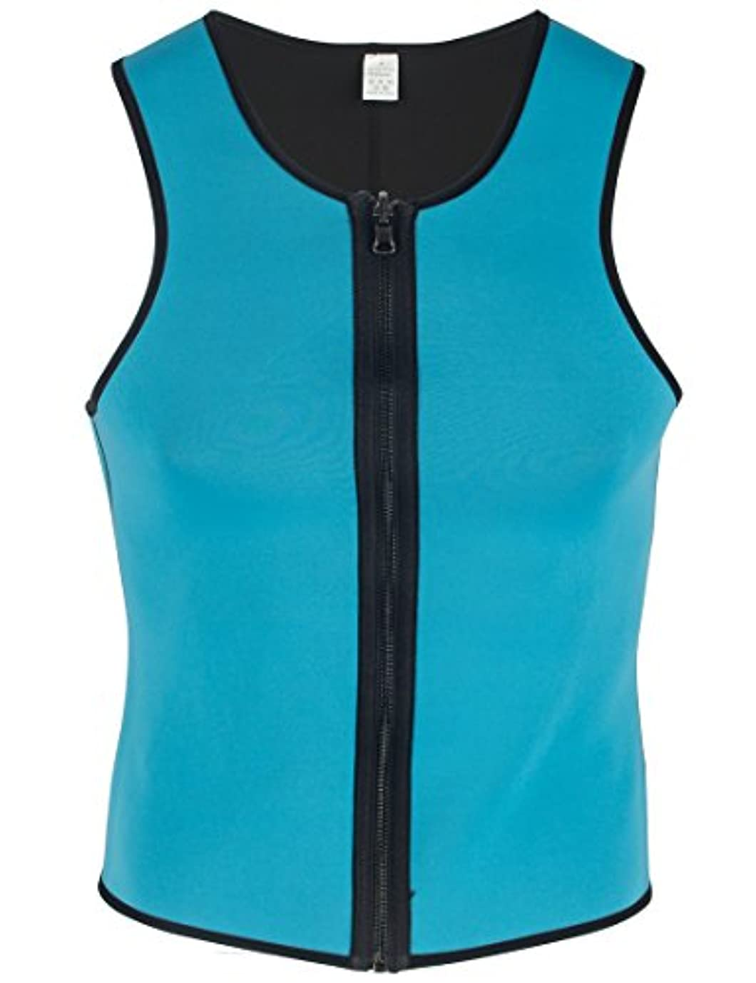 バッフル安定しました主要なHioffer(ハイオフア)男性用 ボディシェイパー 腰痛サポート 脂肪燃焼 ウエストニッパー コルセット ダイエット用 メンズ ボディスーツ 補整タンクトップ 補正下着